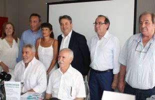 Ο Θόδωρος Μαργαρίτης στην εκδήλωση του ΚΙΝΑΛ τη Δευτέρα