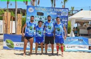 Μουρούτσος- Τσιούρης οι νικητές στο 5th FootVolley Tournament 2vs2 Kavala 2019 by FuzeTea (φωτογραφίες)