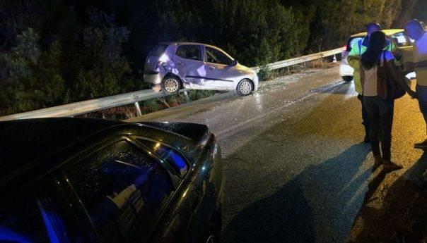 Τροχαίο ατύχημα στο Παληό (φωτογραφίες)