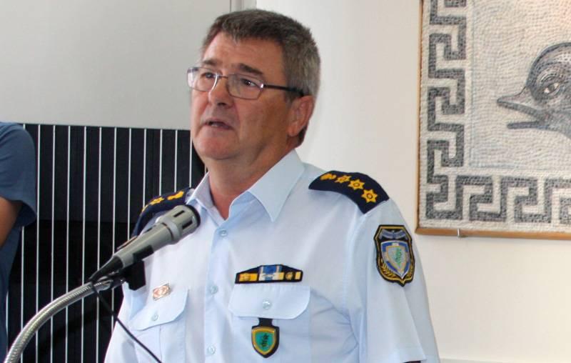 Προήχθη στον βαθμό του Ταξίαρχου ο Αστυνομικός Διευθυντής Καβάλας Γιάννης Καραμανλή
