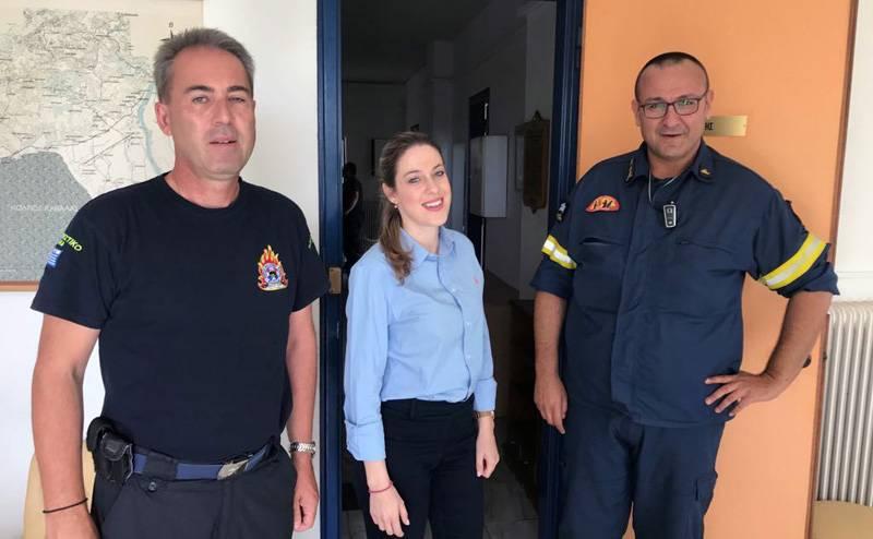 Ενημέρωση για τους κώδικες στο προσωπικό της Πυροσβεστικής