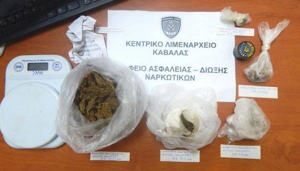 Σύλληψη για κατοχή ναρκωτικών στη Θάσο