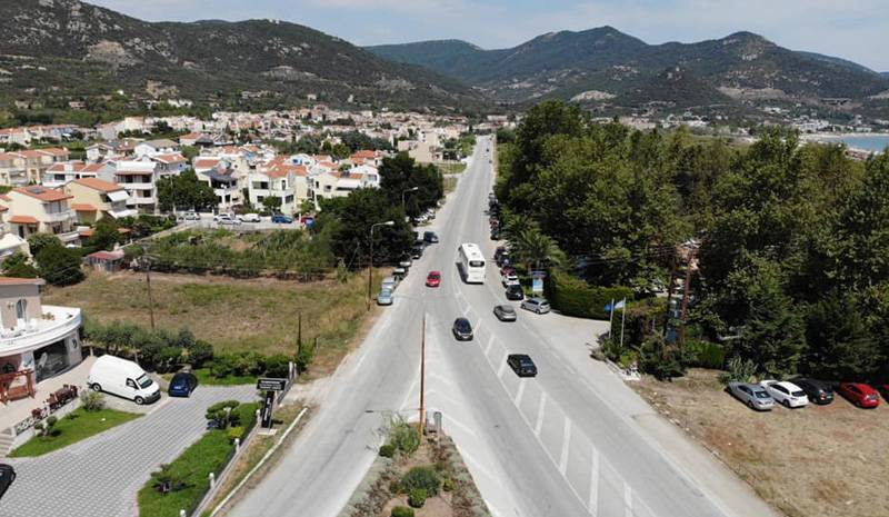 Διαμαρτυρία για τις αυξημένες ταχύτητες στο δρόμο πριν τη Νέα Ηρακλείτσα