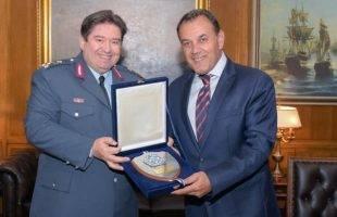 Με τον αρχηγό της ΕΛ.ΑΣ. συναντήθηκε ο Νίκος Παναγιωτόπουλος