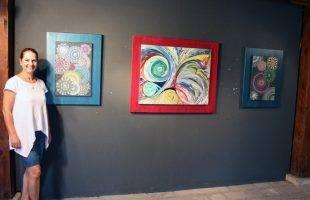 Έκθεση ζωγραφικής της Έφης Αλεξανδρή στην Δ. Καπναποθήκη