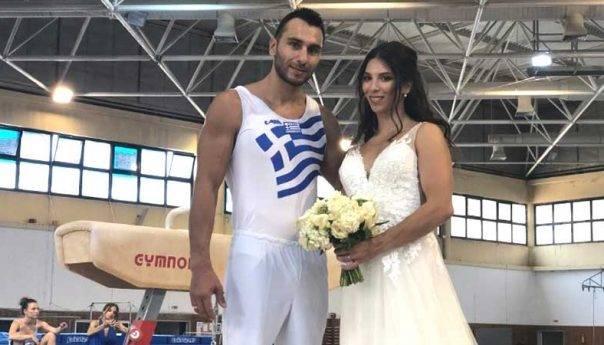 Ιωάννα Ξουλόγη - Μπάμπης Καϊλίδης - Μαζί στην εθνική ομάδα ενόργανης γυμναστικής μαζί και στη ζωή