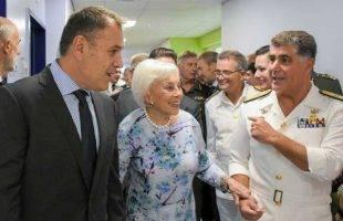 Ο ΥΕΘΑ Νίκος Παναγιωτόπουλος εγκαινίασε την ανακαινισμένη πτέρυγα του Ναυτικού Νοσοκομείου Αθηνών