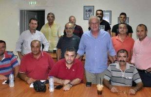 Συνάντηση Θόδωρου Μουριάδη με τουςπροέδρους των τοπικών συμβουλίων