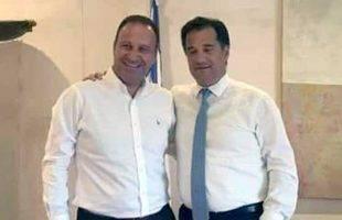 Με τον Άδωνι Γεωργιάδη συναντήθηκε ο Δήμαρχος Παγγαίου