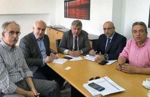 Συνάντηση του Περιφερειάρχη ΑΜΘ με την Εγνατία Οδό ΑΕ - Πέσανε οι υπογραφές για την εκπόνηση μελετών για την πεσμένη γέφυρα της οδού Νυρεμβέργης