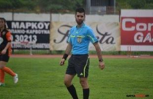 Ο Ωραιόπουλος από τα Δωδεκάνησα διαιτητής στο ματς του ΑΟΚ