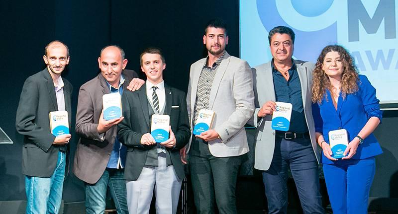 Το ΕΝΑ Channel και η Videotex απέσπασαν 4 βραβεία αριστείας στα Regional Media Awards