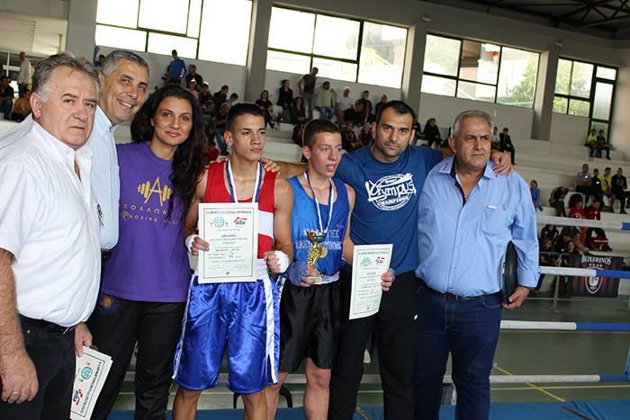 Πέτυχε το Πανελλήνιο Πρωτάθλημα Πυγμαχίας μικρών ηλικιών στην Καβάλα (φωτογραφίες)