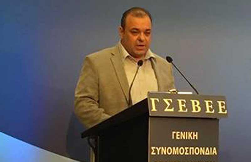 Τρίτη φορά ο Μάκης Δημητριάδης στη διοίκηση της ΓΣΕΒΕΕ