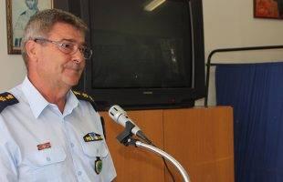 Συγχαρητήρια στον Αστυνομικό Διευθυντή από τους απόστρατους σωμάτων ασφαλείας Καβάλας