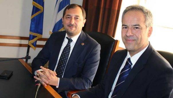 Τούρκοι επισκέπτες στην Καβάλα και στο Δημαρχείο