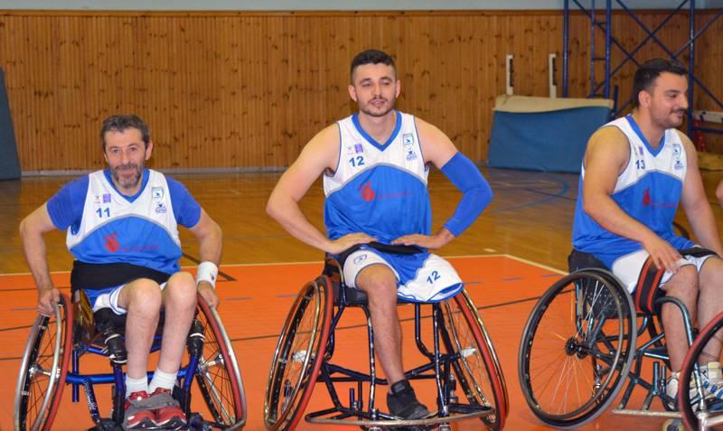 Στη μάχη του Φάιναλ Φορ του Κυπέλλου Ελλάδας η ομάδα μπάσκετ με αμαξίδιο του ΑΟΚ
