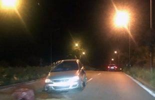 Τροχαίο ατύχημα στην Καλαμίτσα (φωτογραφίες)