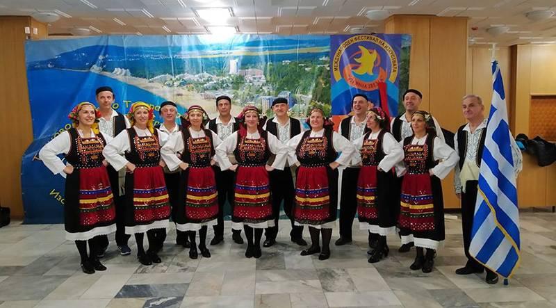 Το χορευτικό του συλλόγου Κηπούπολης- Καλαμίτσας σε φεστιβάλ στο Μπάνσκο