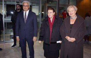 «Σημείο Συνάντησης»: Η Λίνα Μενδώνη εγκαινίασε την έκθεση στο Μουσείο Καβάλας