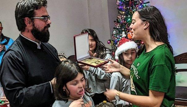 Στη χριστουγεννιάτικη γιορτή του Ιερού Ναού Τιμίου Σταυρού