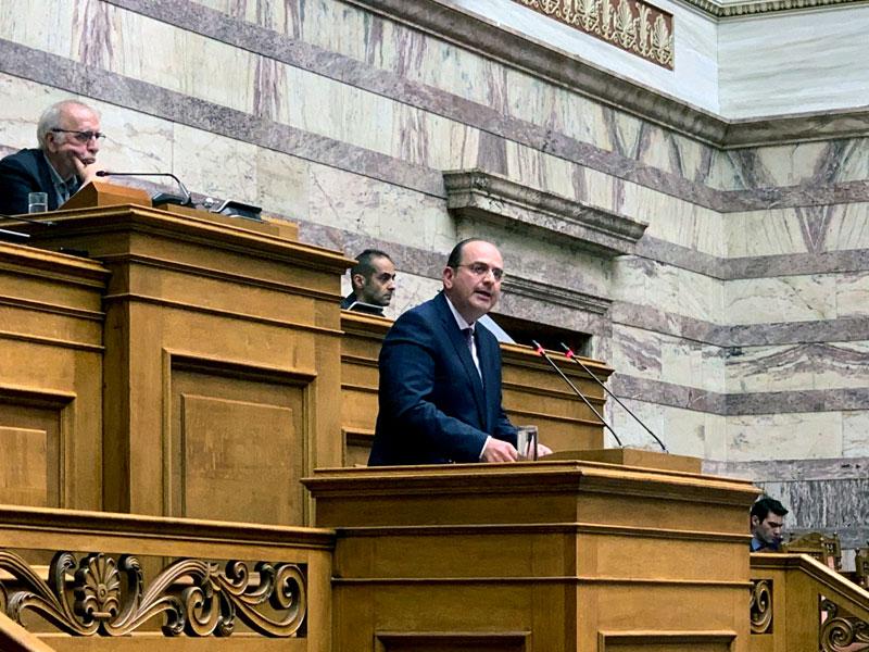"""Μακάριος Λαζαρίδης:  «Ο νέος εκλογικός νόμος """"φρένο"""" στον πολιτικό καιροσκοπισμό»"""