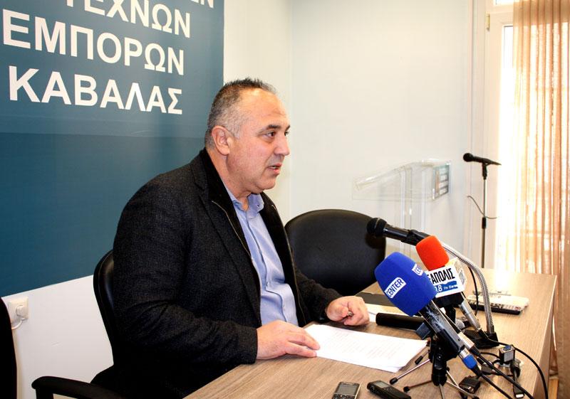 Παραιτείται από Α' Αντιπρόεδρος του Επιμελητηρίου ο Γιάννης Παναγιωτίδης