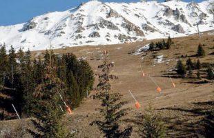 Χιονοδρομικά κέντρα χωρίς ΧΙΟΝΙ !