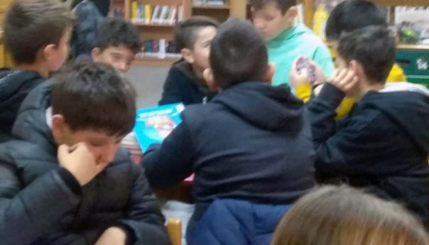 Επίσκεψη μαθητών στη Δημοτική Βιβλιοθήκη