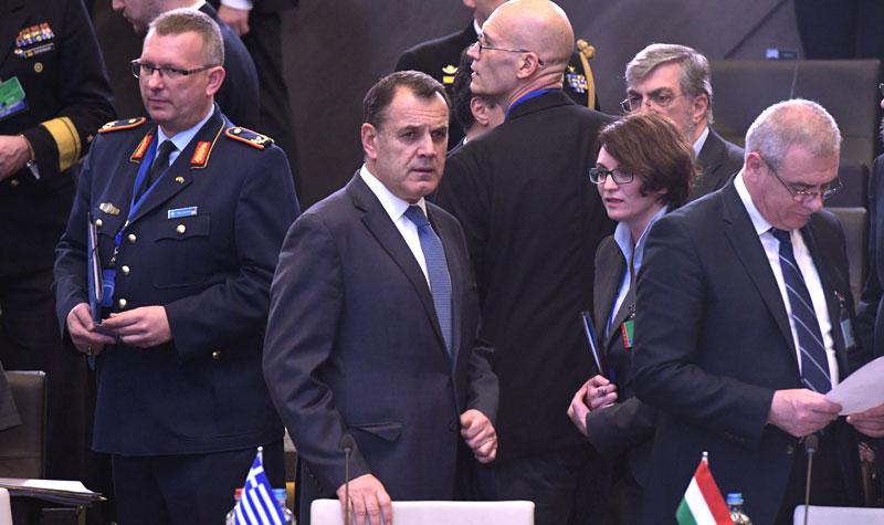Ο ΥΕΘΑ Νίκος Παναγιωτόπουλος στη Σύνοδο Υπουργών Άμυνας του ΝΑΤΟ στις Βρυξέλλες
