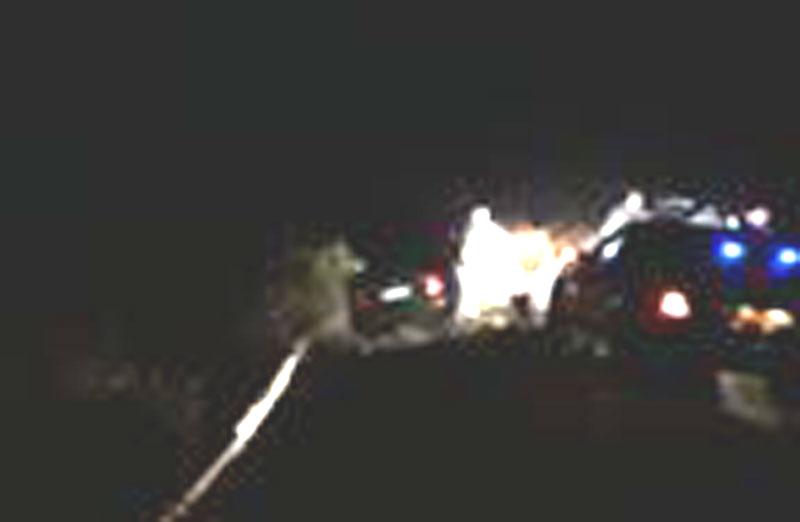 Συλλήψεις τα μεσάνυχτα στη παλιά Εθνική οδό μετά από καταδίωξη (φώτο)