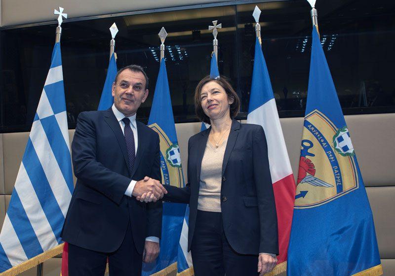 Συνάντηση ΥΕΘΑ Νίκου Παναγιωτόπουλου με την ΥΠΑΜ της Γαλλίας FlorenceParly