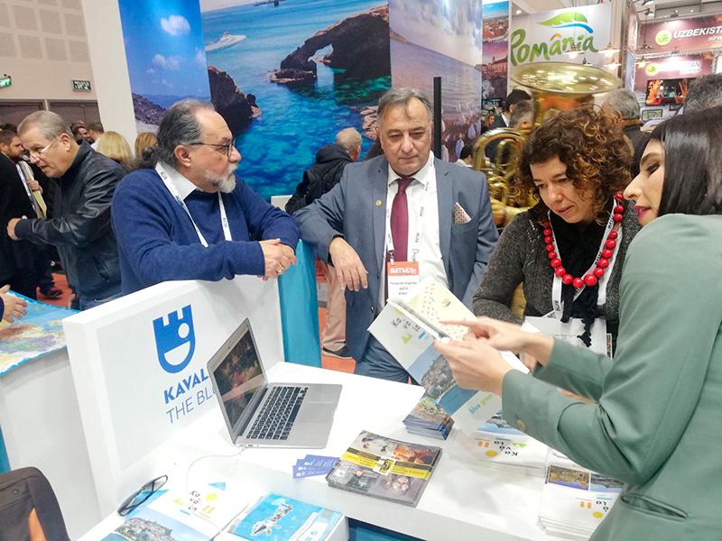 """Δυναμική παρουσία του Δήμου Καβάλας στη τουριστική έκθεση """"International Mediterranean Tourism Market"""" (ΙΜΤΜ)"""