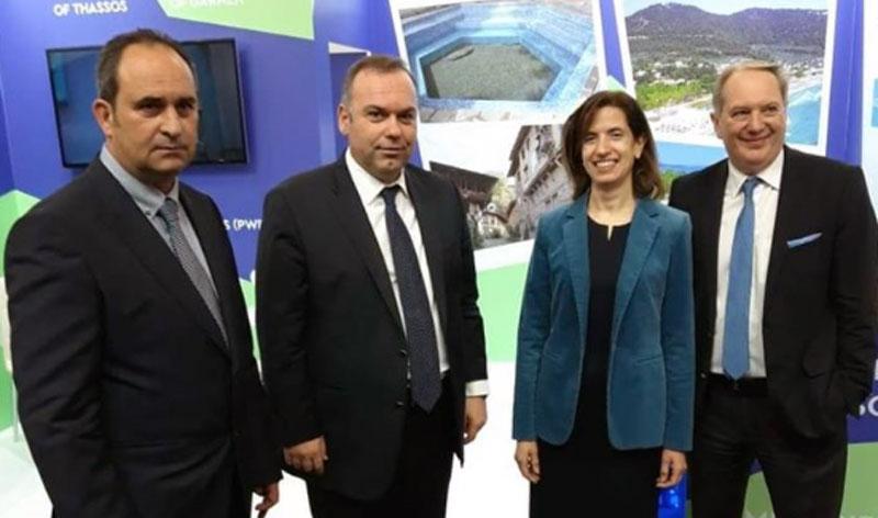Ικανοποίηση του Δημάρχου Θάσου για την τουριστική προβολή στην έκθεση του Βουκουρεστίου