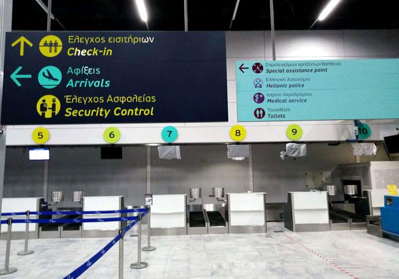 Τα μέτρα σχετικά με τον Κορωνοϊό που εφαρμόζει η Fraport Greece στα 14 αεροδρόμια