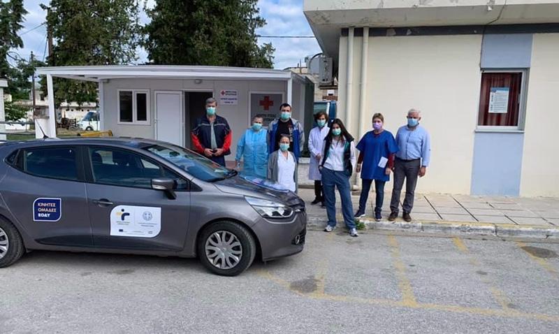 Κινητή ομάδα του ΕΟΔΥ και στο Δήμο Νέστου (φωτογραφίες)