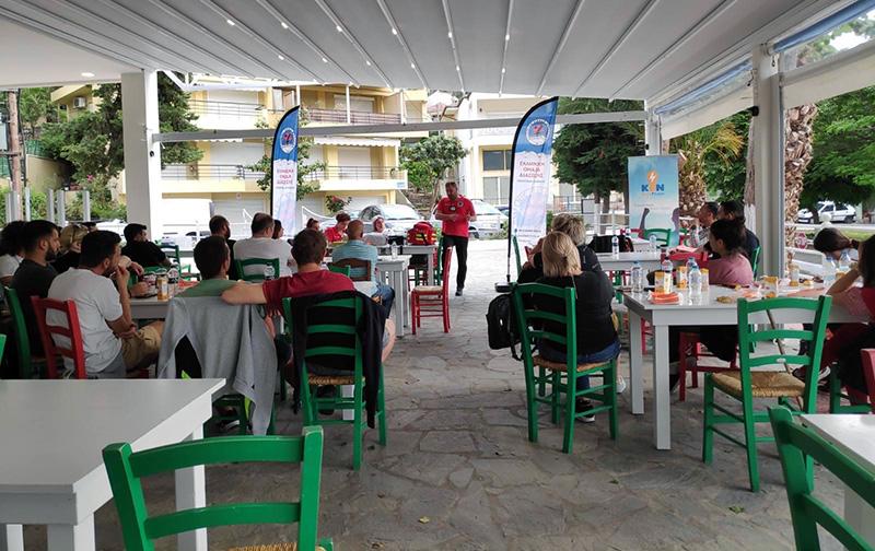 Σύλλογος Επαγγελματιών Ν.Ηρακλείτσας : Επιτυχημένη η δράση παροχής πρώτων βοηθειών (φωτογραφίες)