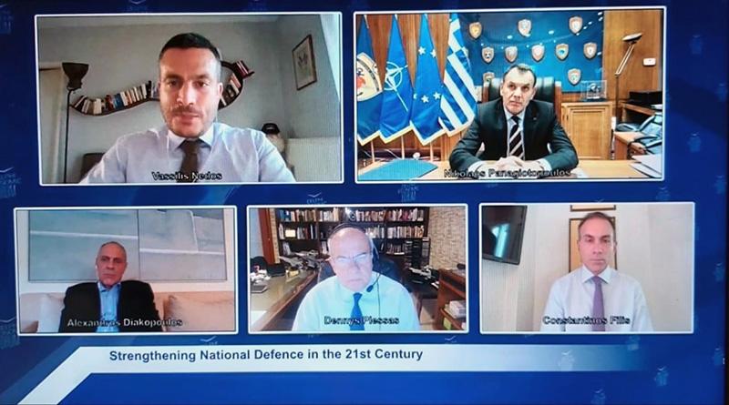Συμμετοχή του Νίκου Παναγιωτόπουλου σε τηλεδιάσκεψη του Οικονομικού Φόρουμ των Δελφών (φωτογραφία)