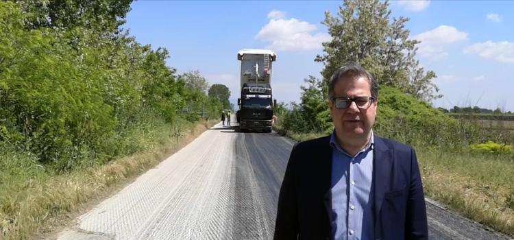 Π.Ε. Καβάλας : Ολοκληρώνεται η ασφαλτόστρωση του επαρχιακού οδικού δικτύου Ερατεινού (video)