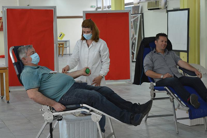 Διήμερη εθελοντική αιμοδοσία στο Αμφιθέατρο του Διοικητηρίου
