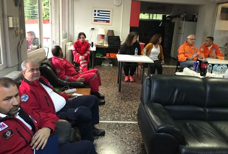 Η Πυροσβεστική Υπηρεσία Καβάλας καλεί σε συνάντηση συλλόγους και εθελοντές