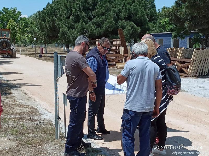 Δήμος Νέστου: Συνεχίζονται οι εργασίες στο Δημοτικό Κάμπινγκ στην Κεραμωτή (φωτογραφίες)