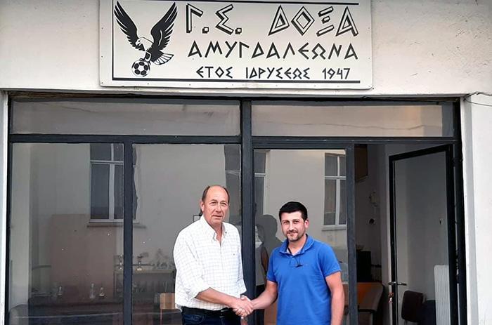 Δόξα Αμυγδαλεώνα: Νέος προπονητής ο Γιώργος Αγγελίδης
