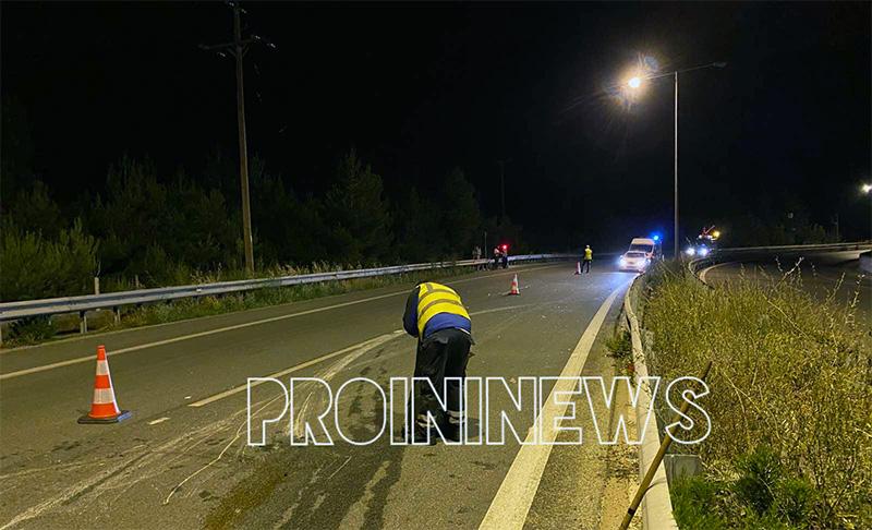 Ένας νεκρός, ένας σοβαρά τραυματίας στο δυστύχημα στον Άγιο Σίλα