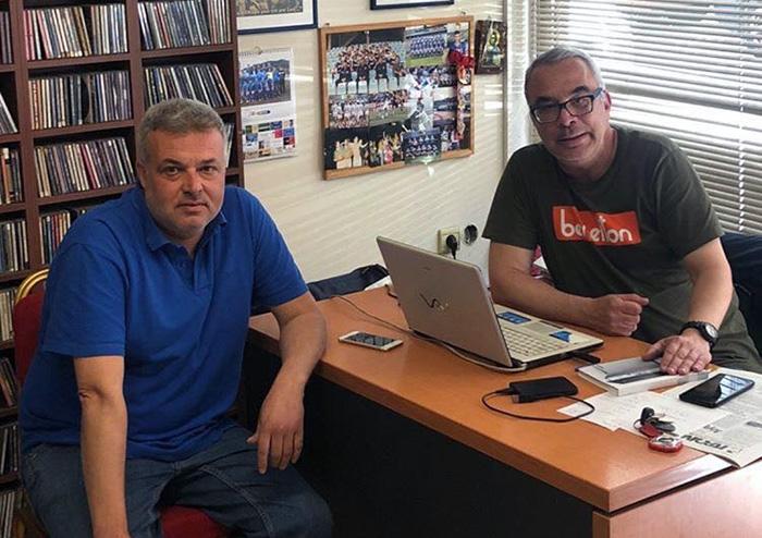 Σταμάτης Τσάμαρης: «Κάποιοι δεν σκέφτηκαν το καλό του ποδοσφαίρου, προχωράμε με μεγάλη συσπείρωση στην ΑΕΚ»