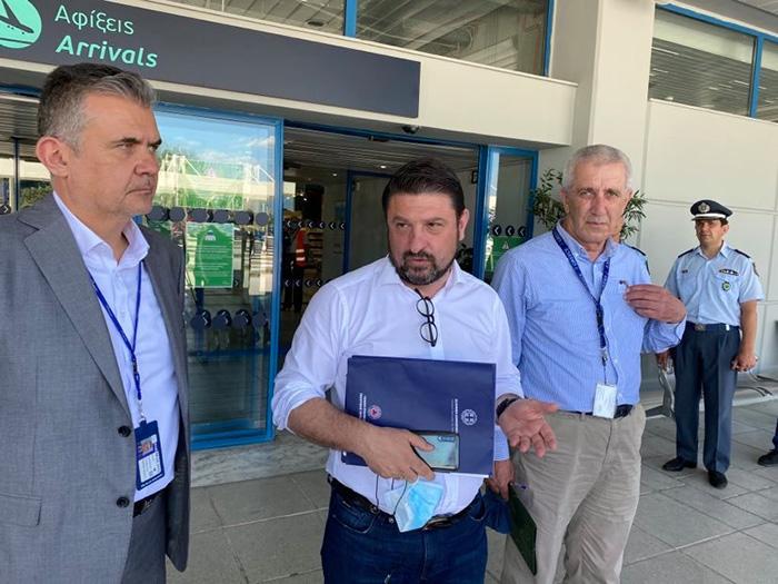 Πώς θα γίνονται τα τεστ στο αεροδρόμιο της Καβάλας