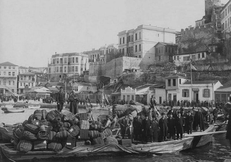 Οι μουσουλμάνοι εγκαταλείπουν την Καβάλα το 1924