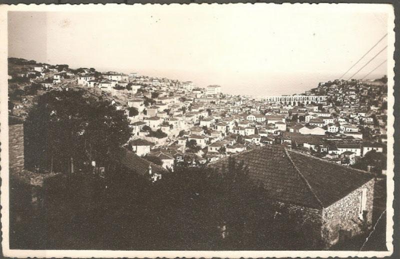 Μια πανοραμική άποψη της Καβάλας το 1941