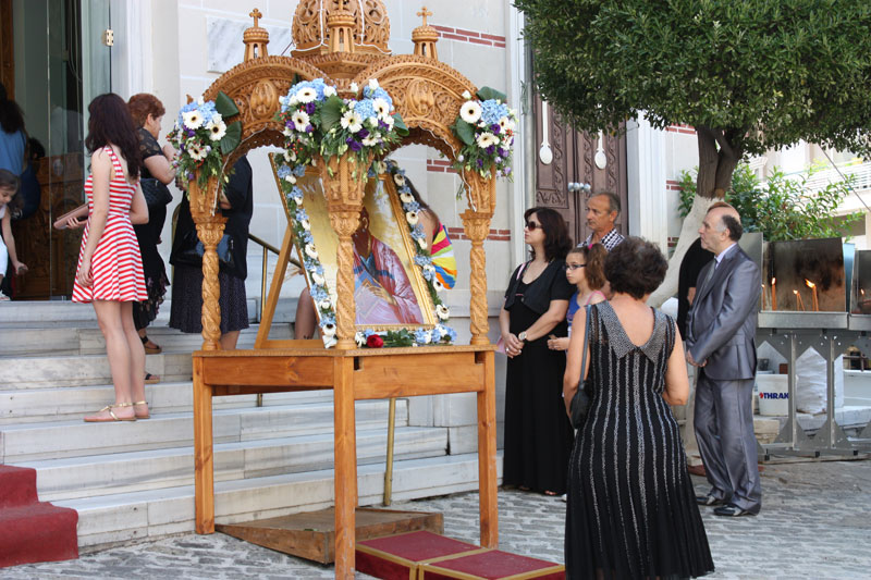 Λόγω κορωνοϊού δεν θα γίνει η λιτανεία της εικόνας του Απ.Παύλου