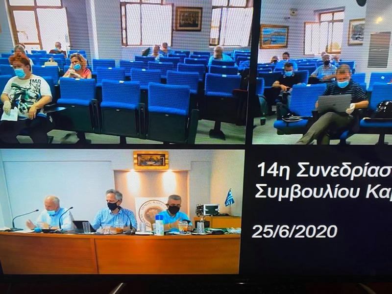 Το ξενύχτησαν στη συνεδρίαση του Δημοτικού Συμβουλίου